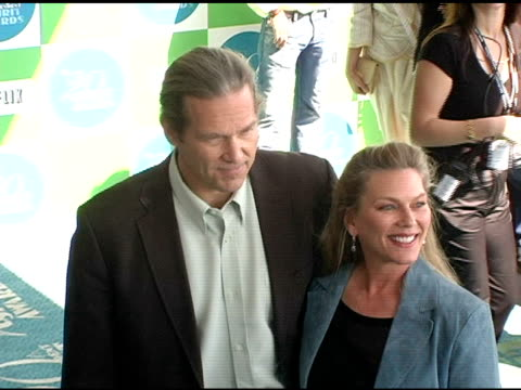 Jeff Bridges and Susan Geston at the 20th Annual Independent Spirit Awards Arrivals and Interviews at Santa Monica in Santa Monica California on...
