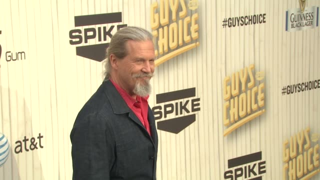 Jeff Bridges at Spike TV's 2013 Guys Choice on 6/8/2013 in Culver City CA