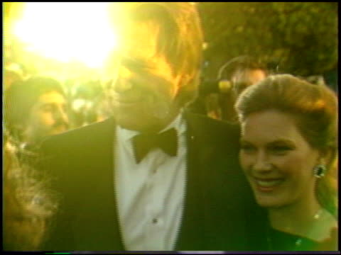 jeff bridges at the 1987 academy awards at dorothy chandler pavilion in los angeles california on march 30 1987 - dorothy chandler pavilion stock videos and b-roll footage