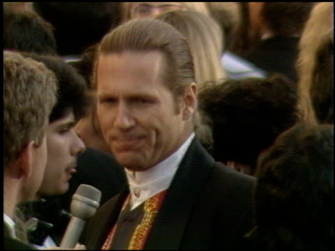 jeff bridges at the 1991 academy awards at the shrine auditorium in los angeles, california on march 25, 1991. - shrine auditorium 個影片檔及 b 捲影像