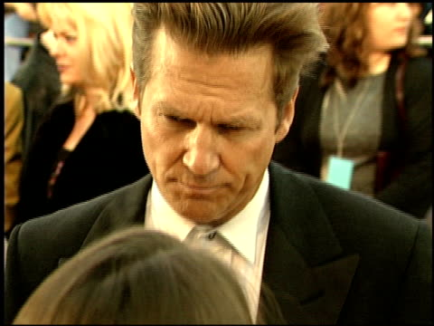 Jeff Bridges at the 1999 Screen Actors Guild SAG Awards at the Shrine Auditorium in Los Angeles California on March 7 1999