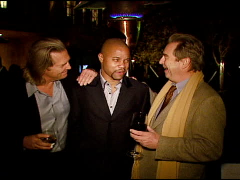 jeff bridges cuba gooding jr and beau bridges at the hollywood entertainment museum annual awards at esquire house 360 in beverly hills california on... - hollywood entertainment museum stock videos & royalty-free footage