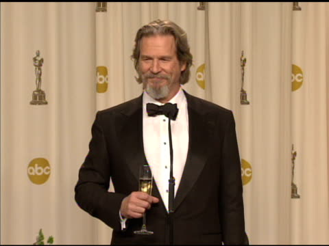 Jeff Bridges on being 'the Dude' at the 82nd Annual Academy Awards Press Room at Hollywood CA