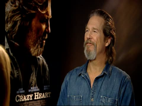 Jeff Bridges on feeling good about his Oscar nomination but he's not feeling different this time round despite being favourite to win On not...