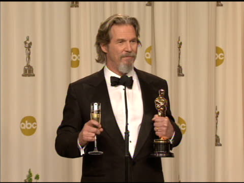 Jeff Bridges on his nomination bringing attention to the film 'Crazy Heart' at the 82nd Annual Academy Awards Press Room at Hollywood CA