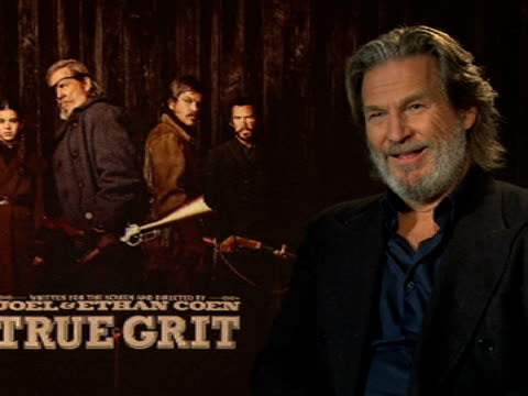 Jeff Bridges on his thoughts on him and the film winning awards at the True Grit Interviews 61st Berlin International Film Festival at Berlin