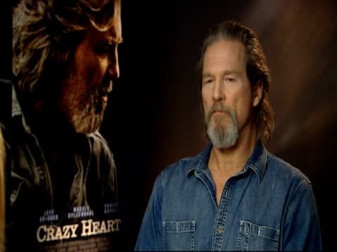 Jeff Bridges on how he got to know his character through the script and the music on the how the music was developed through the filming process and...