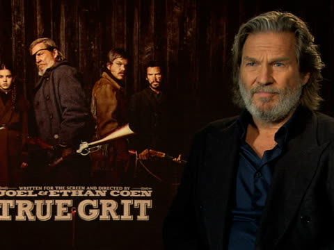 Jeff Bridges on how the film industry has changed with more of a business focus at the True Grit Interviews 61st Berlin International Film Festival...