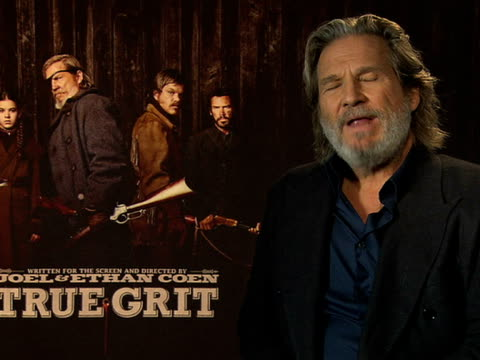 Jeff Bridges on playing his character at the True Grit Interviews 61st Berlin International Film Festival at Berlin