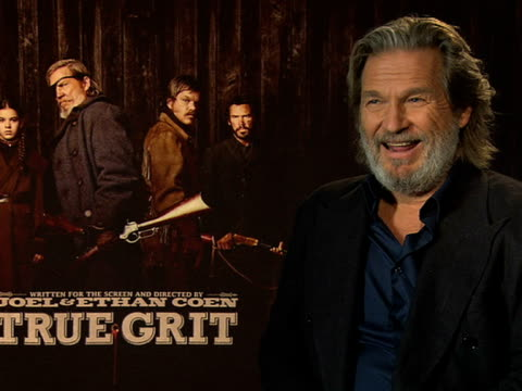 Jeff Bridges on the difference of society from current times to the one portrayed film at the True Grit Interviews 61st Berlin International Film...