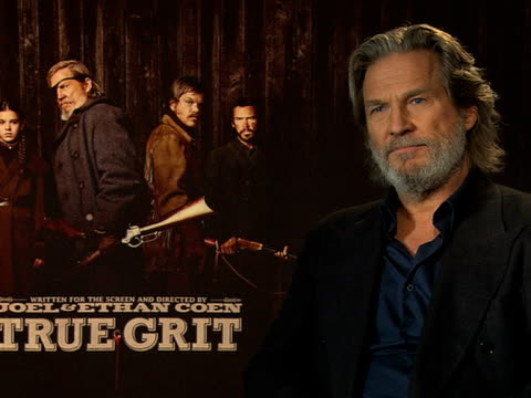 Jeff Bridges on the type of roles he's played through out his career at the True Grit Interviews 61st Berlin International Film Festival at Berlin