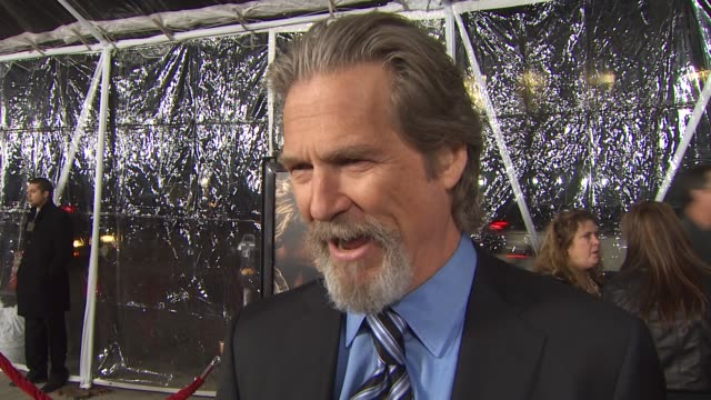 Jeff Bridges on what he loves about the film using his musical talent in the role at the 'Crazy Heart' Premiere at Beverly Hills CA