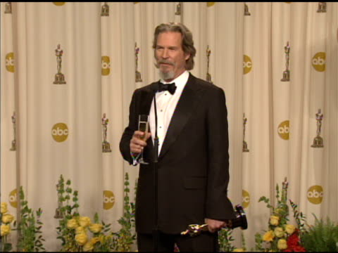 Jeff Bridges on winning the award at the 82nd Annual Academy Awards Press Room at Hollywood CA