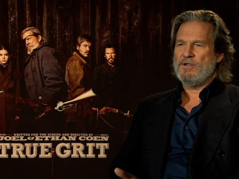 Jeff Bridges on working the the Coen brothers at the True Grit Interviews 61st Berlin International Film Festival at Berlin