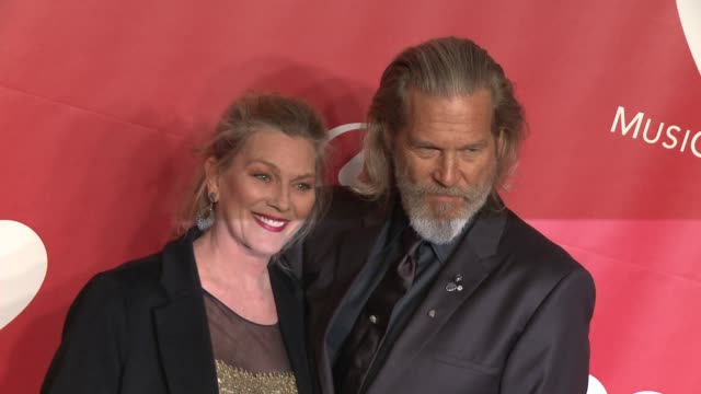 Jeff Bridges Susan Bridges at 2015 MusiCares Person Of The Year Gala Honoring Bob Dylan at Los Angeles Convention Center on February 06 2015 in Los...