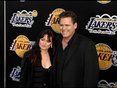 Jeff Conaway at the LA Lakers and Celebrities 2nd Annual Las Vegas Poker Night at Barker Hangar in Santa Monica California on April 14 2005