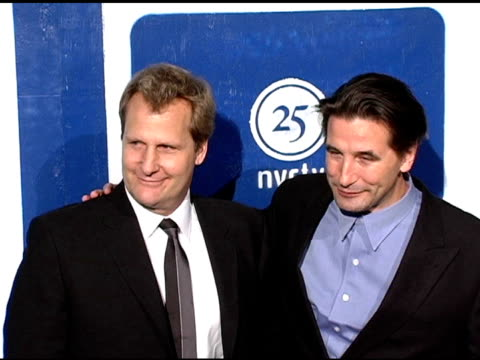 jeff daniels and william baldwin at the ifp's 15th annual gotham awards arrivals at pier 60 at chelsea piers in new york, new york on november 30,... - independent feature project video stock e b–roll