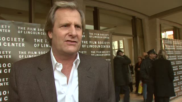 Jeff Daniels on what it was like to work on the set with Keaton and her acting style at the Film Society of Lincoln Center Tribute to Diane Keaton at...