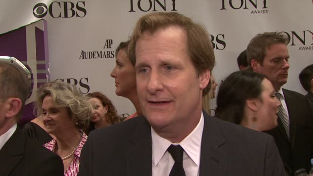 Jeff Daniels on what the event is like how grateful he is to be at the event and how surprised he was that the whole cast was nominated at the 63rd...