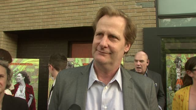 jeff daniels talking about being nominated for a tony award, what attracted him to the film, his character, working with catherine o'hara and the... - sam mendes stock videos & royalty-free footage