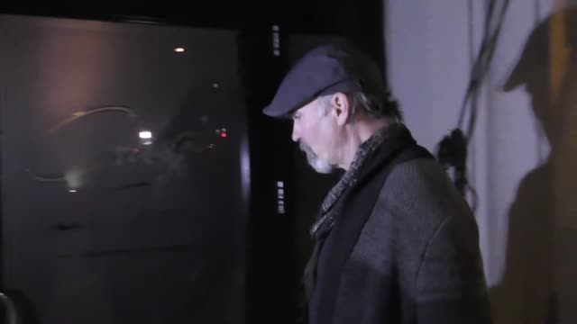 INTERVIEW Jeff Fahey talks about Leonardo DiCaprio playing Charles Manson outside Craig's Restaurant in West Hollywood in Celebrity Sightings in Los...