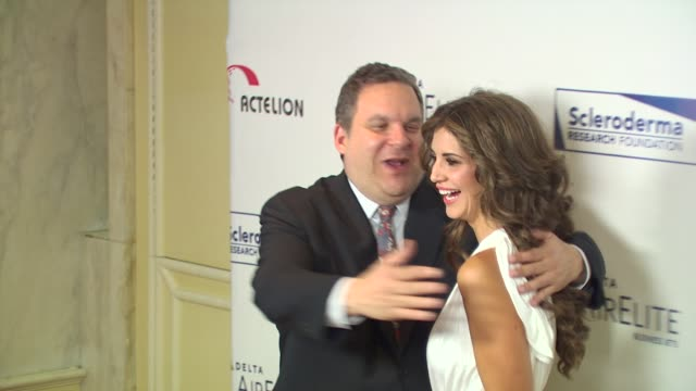 Jeff Garlin Hope Dworaczyk at the Scleroderma Research Foundation's 'Cool Comedy Hot Cuisine' at Beverly Hills CA