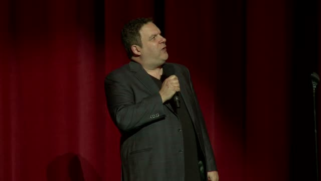 jeff garlin on stage at international myeloma foundation 6th annual comedy celebration benefiting the peter boyle research fund on 10/27/12 in los... - peter boyle stock videos & royalty-free footage