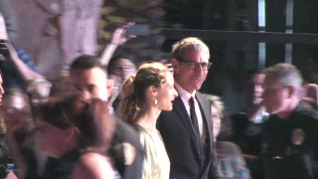 Jeff Goldblum arrives at 2012 Gala Awards in Palm Springs in Celebrity Sightings in Palm Springs