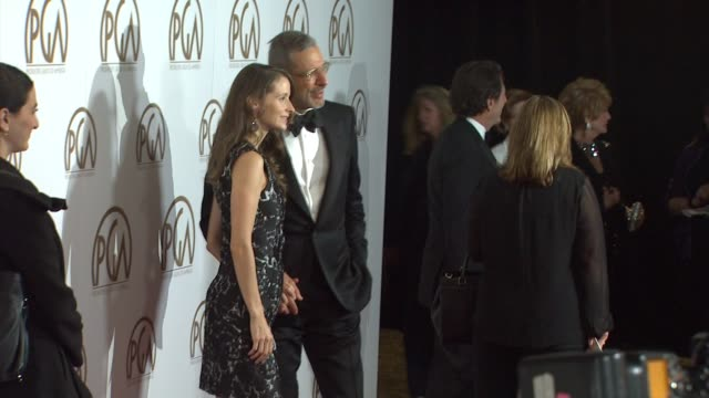 vidéos et rushes de jeff goldblum at 26th annual producers guild awards in los angeles, ca 1/24/15 - producer's guild of america awards