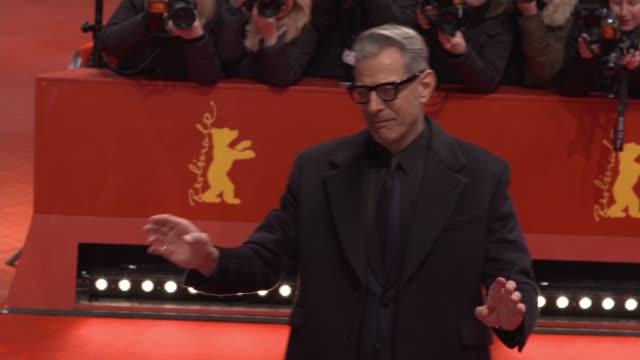 Jeff Goldblum at 68th Berlin Film Festival GIFs on February 15 2018 in Berlin Germany