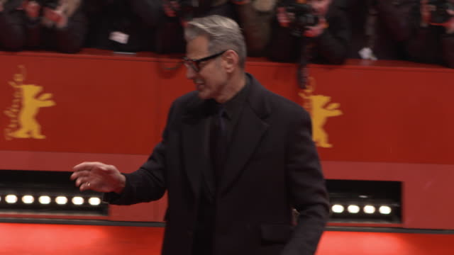 Jeff Goldblum at 68th Berlin Film Festival Isle of Dogs Opening Red Carpet at Berlinale Palast on February 15 2018 in Berlin Germany