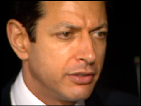 Jeff Goldblum at the 1998 Academy Awards Vanity Fair Party at Morton's in West Hollywood California on March 23 1998