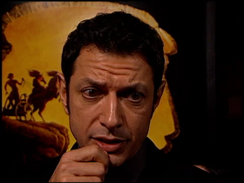 Jeff Goldblum at the 'Prince of Egypt' Premiere at Royce Hall UCLA in Westwood California on December 17 1998