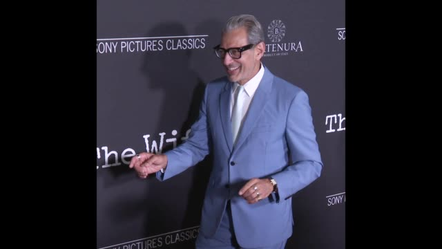 Jeff Goldblum at the 'The Wife' Los Angeles Premiere