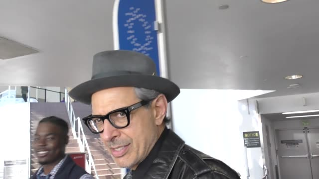 Jeff Goldblum departing at LAX Airport in Los Angeles in Celebrity Sightings in Los Angeles