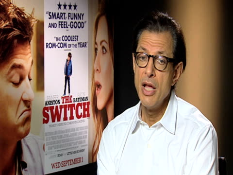 Jeff Goldblum on working with two Directors and the Coen brothers's film 'A Strange Man' at the The Switch Interview at London England