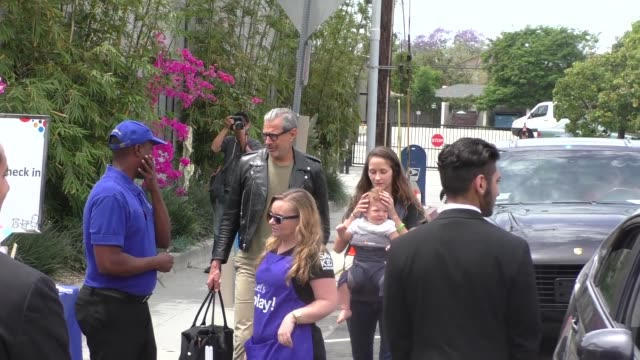 Jeff Goldblum outside Smashbox Studios in Culver City in Celebrity Sightings in Los Angeles