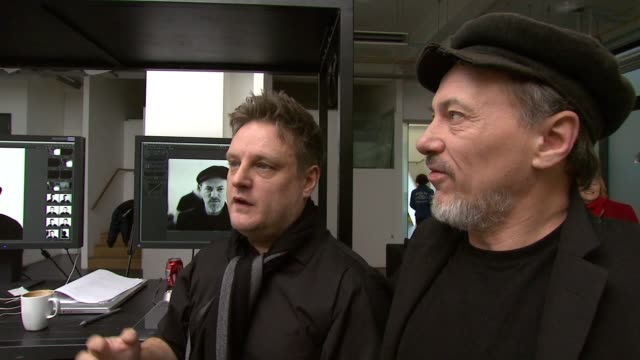 Jeff Hubbard and Rankin explain the concept of the Diptych London United Kingdom