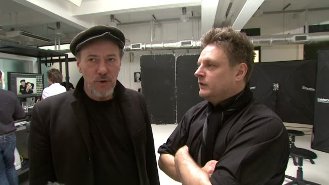 Jeff Hubbard and Rankin talk about how happy they were with the way the shoot went and how great HRH Prince William and Jeff were London United...