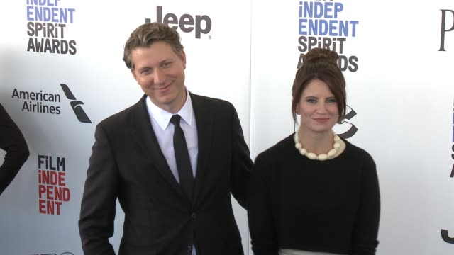 Jeff Nichols and Missy Nichols at the 2017 Film Independent Spirit Awards Arrivals on February 25 2017 in Santa Monica California