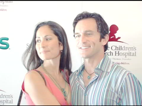 jeff probst and guest at the chili's create a pepper to benefit st jude children's research hospital at chili's restaurant in westwood california on... - chili's grill & bar stock videos and b-roll footage