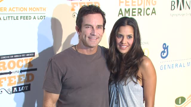 Jeff Probst at the 'Rock A Little Feed A Lot' Benefit Concert at Los Angeles CA