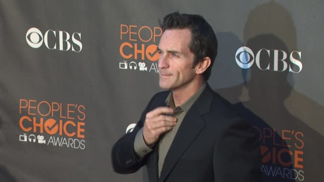 jeff prosbt at the 36th annual people's choice awards at los angeles ca. - people's choice awards stock videos & royalty-free footage
