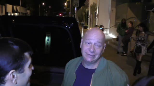 INTERVIEW Jeff Ross talks about voter fraud outside Catch Restaurant in West Hollywood in Celebrity Sightings in Los Angeles