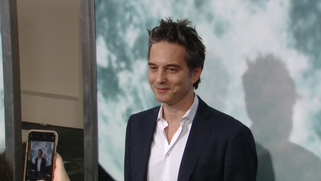 """jeff russo at the """"lucy in the sky"""" los angeles premiere presented by fox searchlight pictures in los angeles ca - fox searchlight pictures stock videos & royalty-free footage"""
