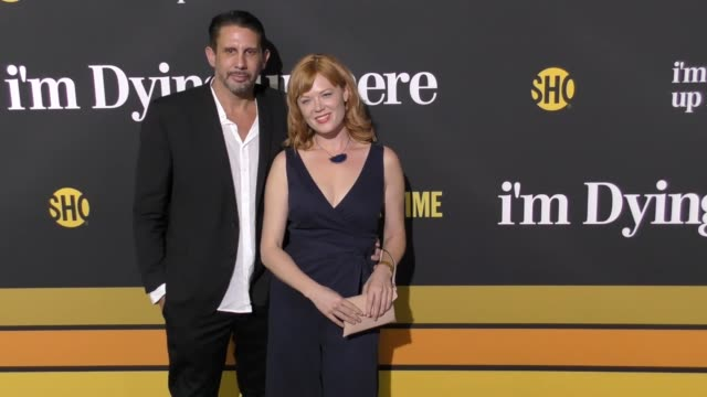 jeff shakoor kirstin kluver at the premiere of showtime's 'i'm dying up here' arrivals on may 31 2017 in los angeles california - showtime video stock e b–roll