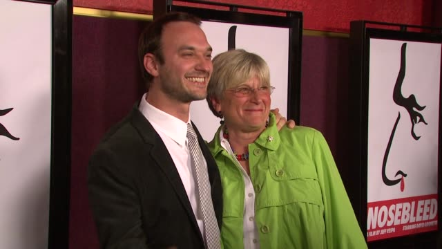Jeff Vespa and guest at the 'Nosebleed' Premiere on March 19 2008