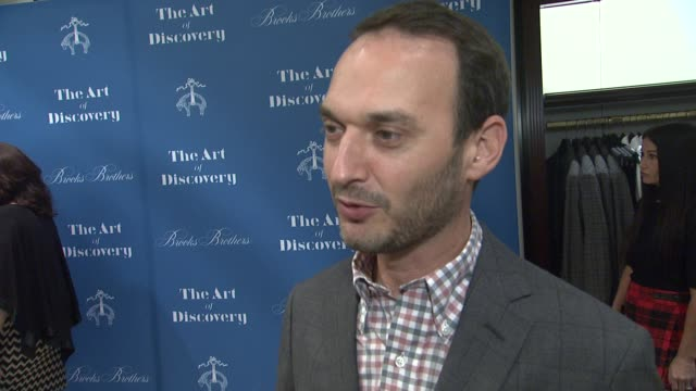INTERVIEW Jeff Vespa on the event at Brooks Brothers Celebrates The Art Of Discovery Book Launch at Brooks Brothers Rodeo on October 23 2014 in...