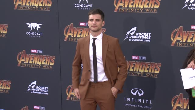 Jeff Ward at the Avengers Infinity War World Premiere on April 23 2018 in Hollywood California