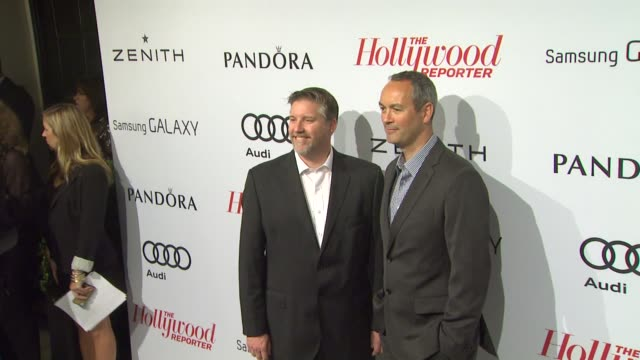 jeff white, guy williams at the hollywood reporter's nominees' night 2013 2/4/2013 in beverly hills, ca. - white点の映像素材/bロール